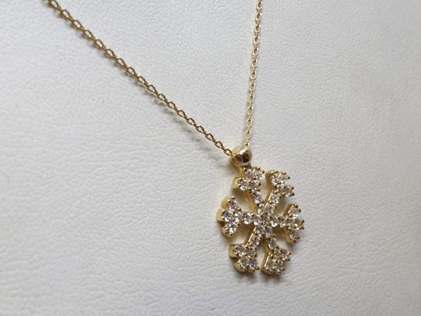 Ogrlica sa pahuljicom