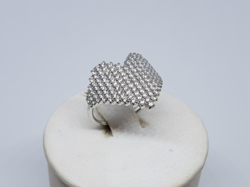 Srebrni prsten srce