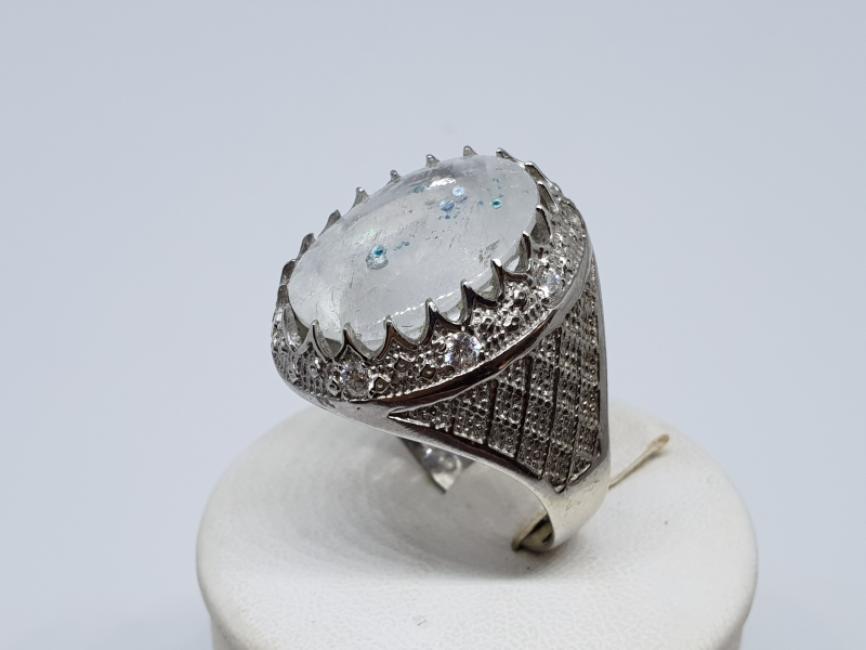 Srebrni prsten sa kvarcom