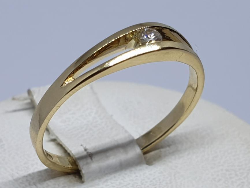 Verenicki prsten sa brilijantom
