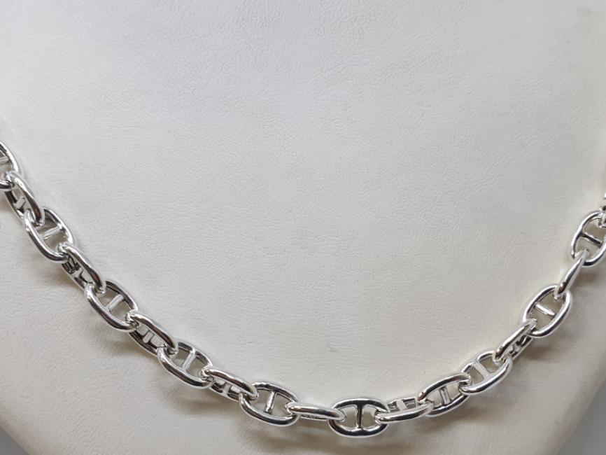 Srebrni lanac beneton anker