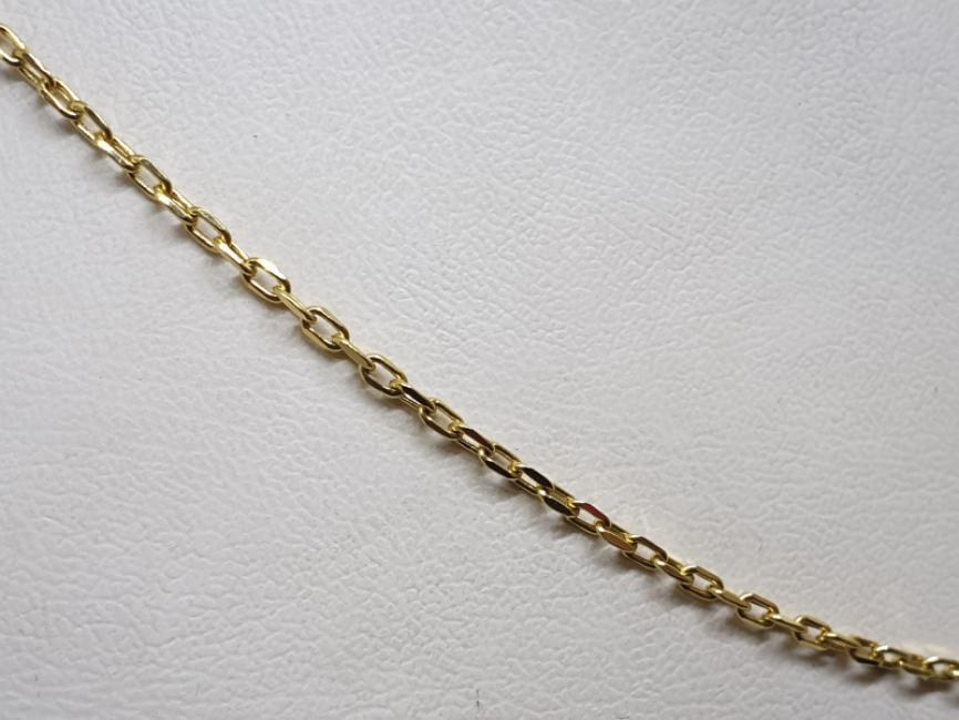 Zlatni lanac žuti anker