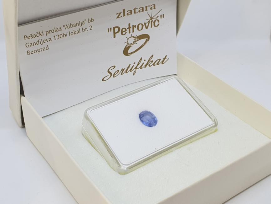 Plavi safir u blisteru