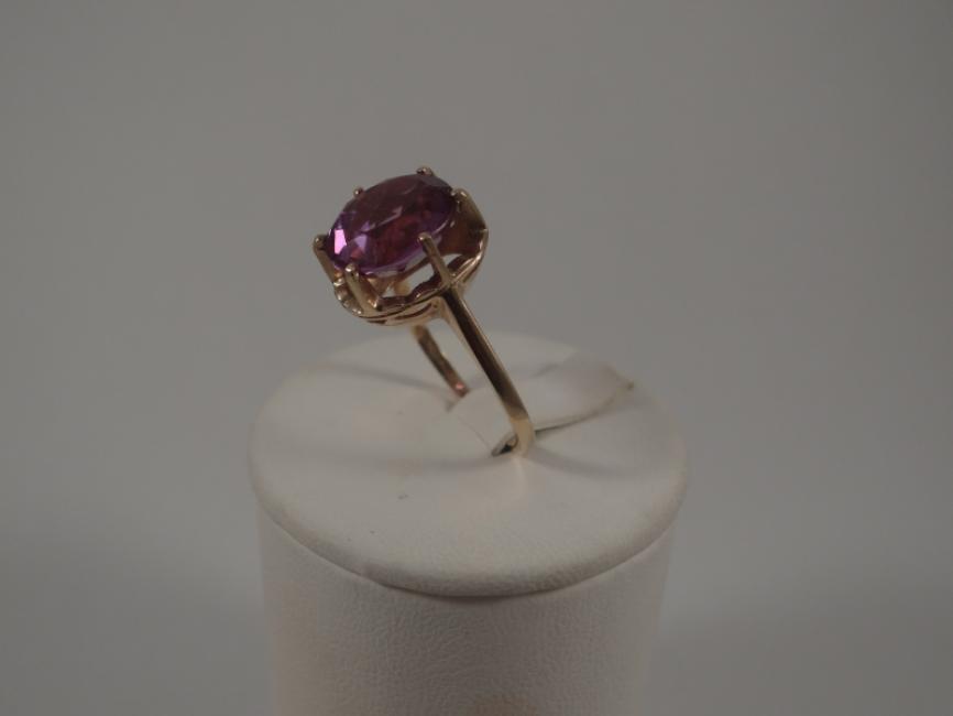 Prsten ruski šaton sa aleksandritom