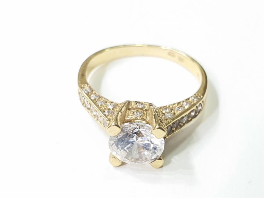 Verenički prsten žuto zlato