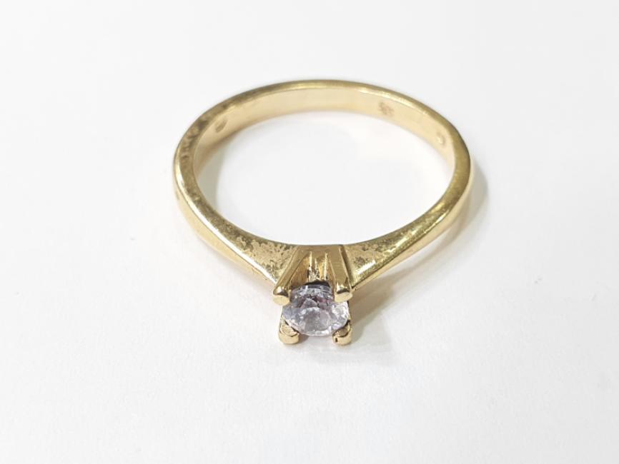 Verenicki prsten od žutog zlata
